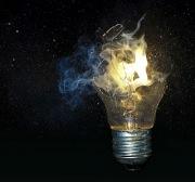 Soms gaat de lamp kapot!