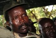 Joseph Kony op een archieffoto uit 2006. Foto AP / Stuart Price